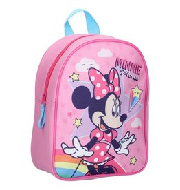 DISNEY RUGZAK MINNIE MOUSE, STARS & RAINBOWS: 28X22X10 CM
