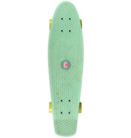 CHOKE SKATEBOARDS CHOKE BIG JIM CRUISER, PASTEL GREEN