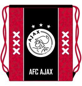 AFC AJAX ZWEMTAS AJAX, ROOD MET ZWARTE BAAN: 34X45 CM