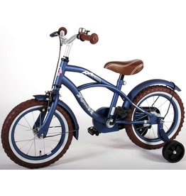 SPIDERMAN BLUE CRUISER KINDERFAHRRAD 14 INCH, BLAU