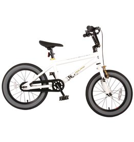 COOL RIDER COOL RIDER KINDERFIETS 16 INCH, WIT