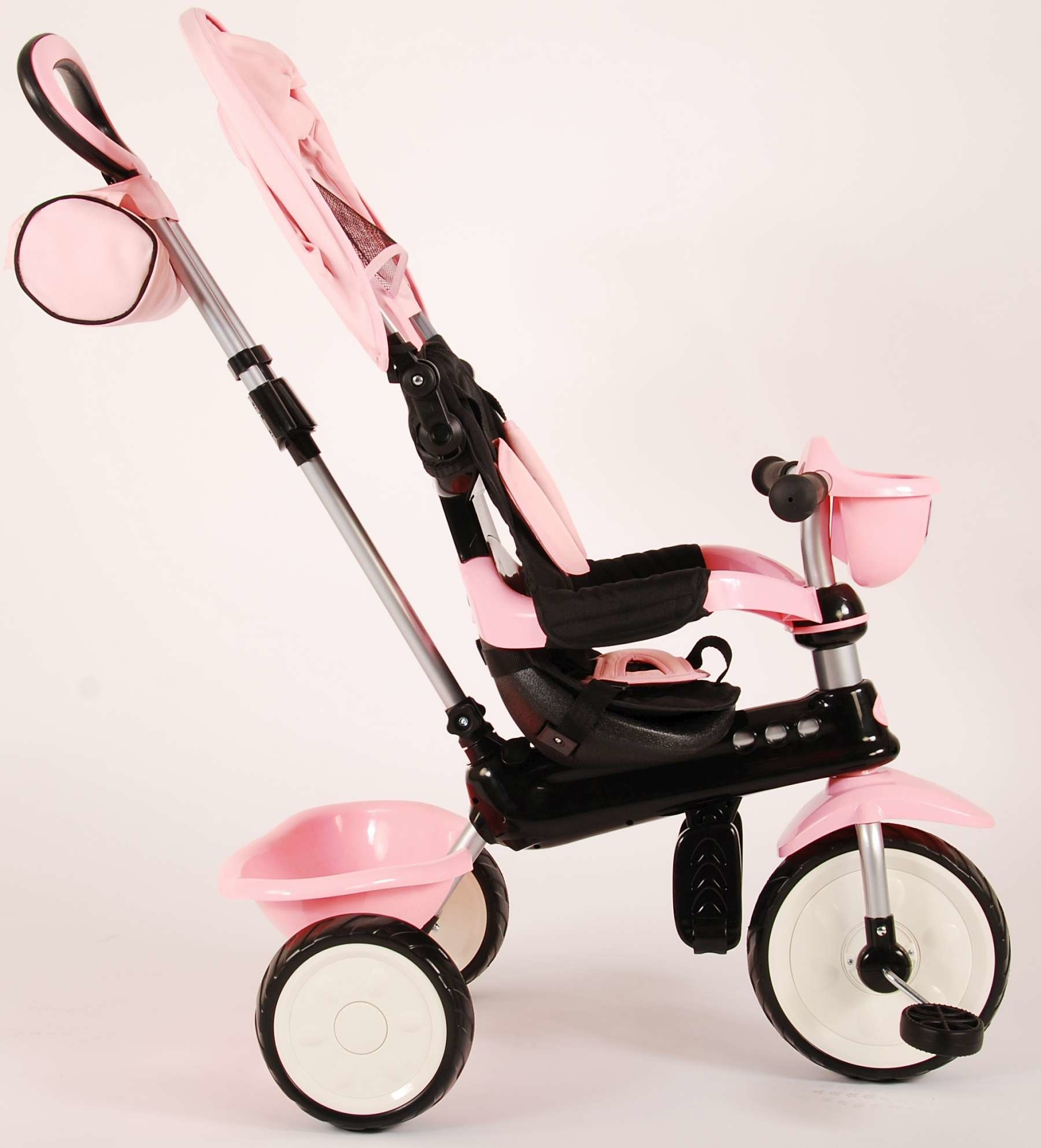Q-PLAY Q-PLAY COMFORT DRIEWIELER 4 IN 1, ROZE