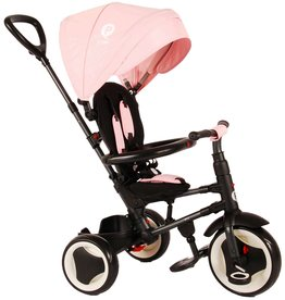 Q-PLAY Q-PLAY RITO DRIEWIELER 3 IN 1 DELUXE, ROZE