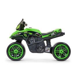 FALK RACING MOTOR FALK KAWASIKI BUD RACING TEAM MOTOR LOOPFIETS, GROEN