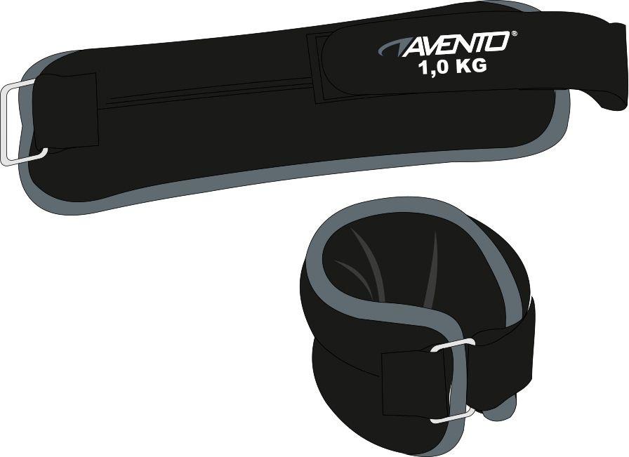 AVENTO AVENTO POLS/ENKELGEWICHT NEOPREEN 2 X 1.0 KG