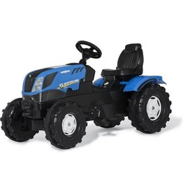 ROLLY TOYS ROLLY TOYS TRACTOR NEW HOLLAND T7, BLAU/SCHWARZ