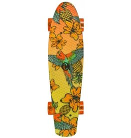 CHOKE SKATEBOARDS CHOKE JUICY SUSI ELITE CRUISER, TROPICAL