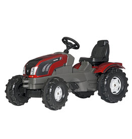 ROLLY TOYS ROLLY TOYS VALTRA TRACTOR, ROOD/GRIJS
