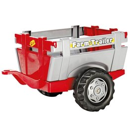 ROLLY TOYS ROLLY TOYS TRAILER, ROT/GRAU