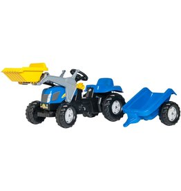 ROLLY TOYS ROLLY TOYS NEW HOLLAND TRACTOR, BLAUW