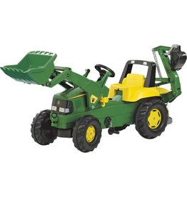 ROLLY TOYS ROLLY TOYS JOHN DEERE TRACTOR MET LADER, GROEN