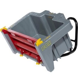 ROLLY TOYS ROLLY TOYS TRANSPORT BOX, GRAU/ROT