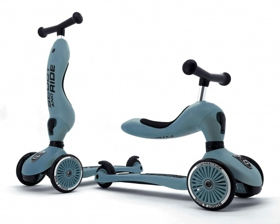 SCOOT AND RIDE SCOOT AND RIDE - HIGHWAYKICK 1 - STEEL
