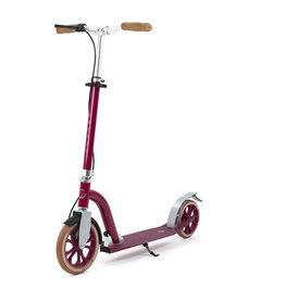 FRENZY SCOOTERS FRENZY 10+, 230MM DUAL BRAKE SCOOTER, BURGUNDY