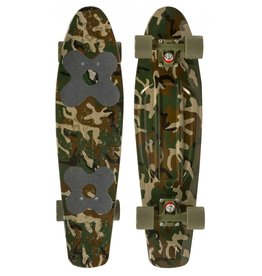 CHOKE SKATEBOARDS CHOKE JUICY SUSI CRUISER 28 ZOLL, CAMO