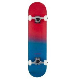 ROCKET SKATEBOARD ROCKET COMPLETE SKATEBOARD, DOUBLE DIPPED RED