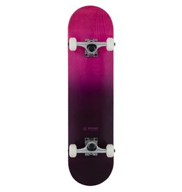 ROCKET SKATEBOARD ROCKET COMPLETE SKATEBOARD, DOUBLE DIPPED PURPLE