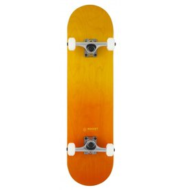 ROCKET SKATEBOARD ROCKET COMPLETE SKATEBOARD, DOUBLE DIPPED ORANGE