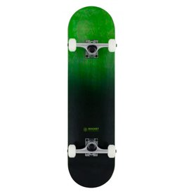 ROCKET SKATEBOARD ROCKET COMPLETE SKATEBOARD, DOUBLE DIPPED GREEN