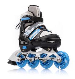 METEOR METEOR INLINE SKATES 2 W 1 VOLTER, GREY/BLACK/BLUE