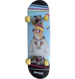 MOVE SKIPPY SKATEBOARD, 28 INCH