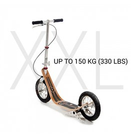 BOARDY BOARDY XXL BAMBOO SCOOTER, RED