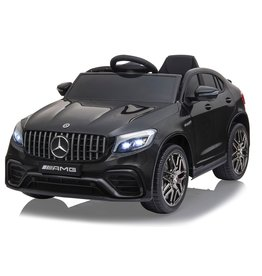 JAMARA RIDE-ON CAR MERCEDES-AMG GLC63 S COUPE 4WD, SCHWARZ
