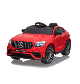 JAMARA RIDE-ON-CAR MERCEDES-AMG  GLC63 S COUPE 4WD, ROOD