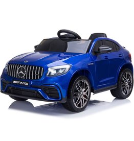 JAMARA RIDE-ON-CAR MERCEDES-AMG  GLC63 S COUPE 4WD, BLAUW