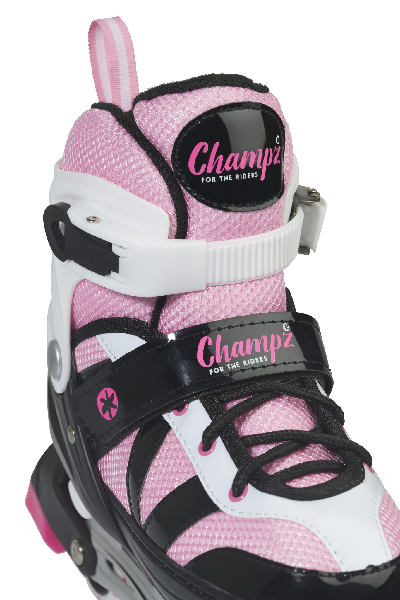 CHAMPZ CHAMPZ INLINE SKATES,  ROZE/WIT