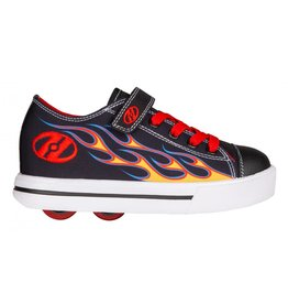 HEELYS HEELYS X2 SNAZZY, BLACK/YELLOW/RED FLAME
