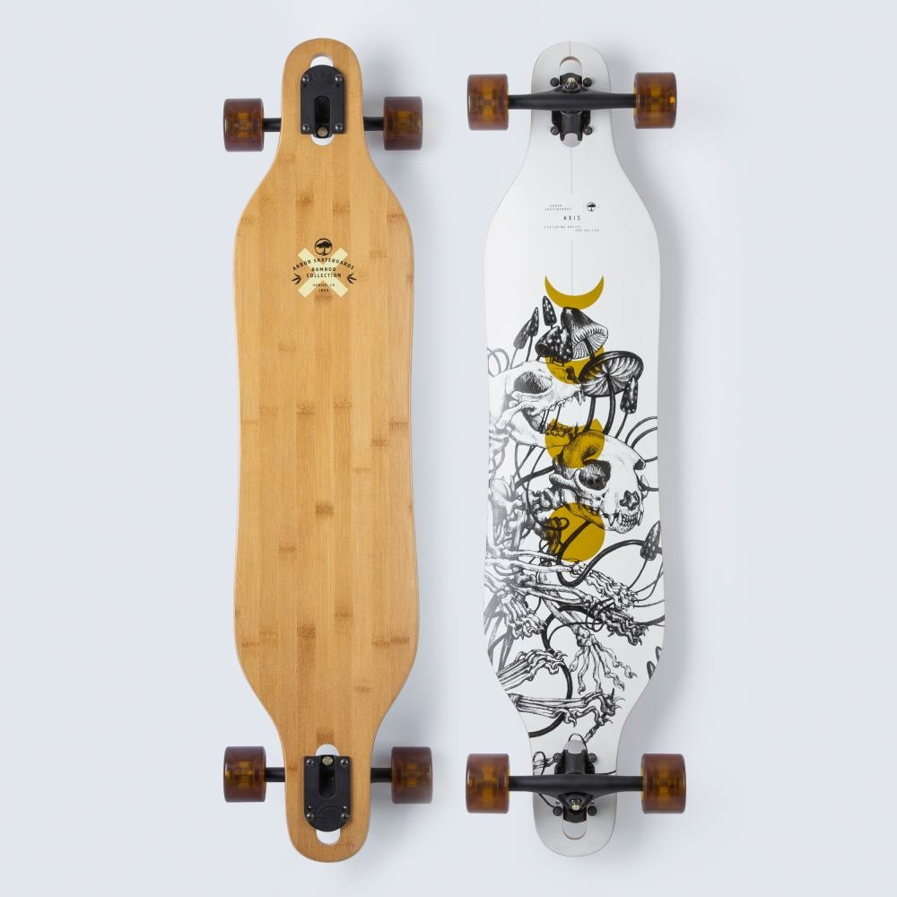 ARBOR ARBOR PERFORMANCE COMPLETE LONGBOARD, BAMBOO AXIS 40