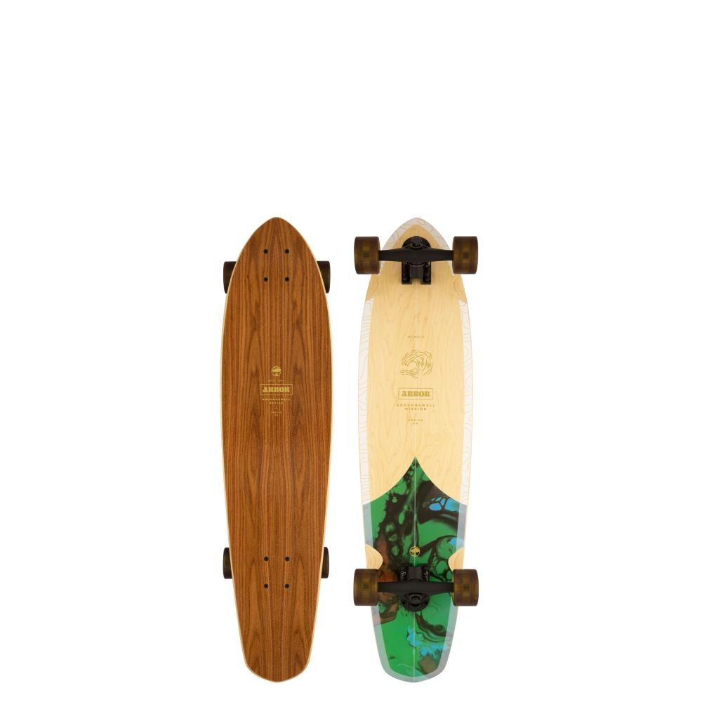 ARBOR ARBOR PERFORMANCE COMPLETE LONGBOARD, GROUNDSWELL MISSION