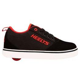 HEELYS HEELYS PRO 20, BLACK/RED/NUBUCK