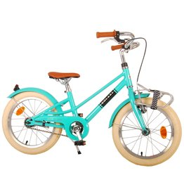 VOLARE VOLARE MELODY 16 INCH KINDERFIETS, TURQUOISE