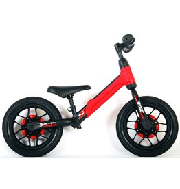 Q-PLAY Q-PLAY SPARK 12 INCH LOOPFIETS MET LED VERLICHTING, ROOD