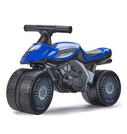 FALK RACING MOTOR FALK BABY RACING TEAM MOTOR LOOPFIETS, BLAUW