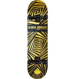 BLACK DRAGON BLACK DRAGON SKATEBOARD, NEO CHROME GOLD