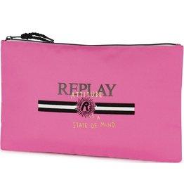 REPLAY ETUI REPLAY GIRLS PINK, 21x35x1 CM
