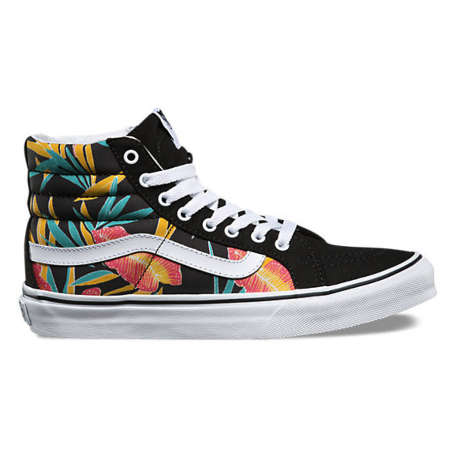 bad400984d Vans I SK8-Hi Slim Tropical Leaves I Multicolored-1