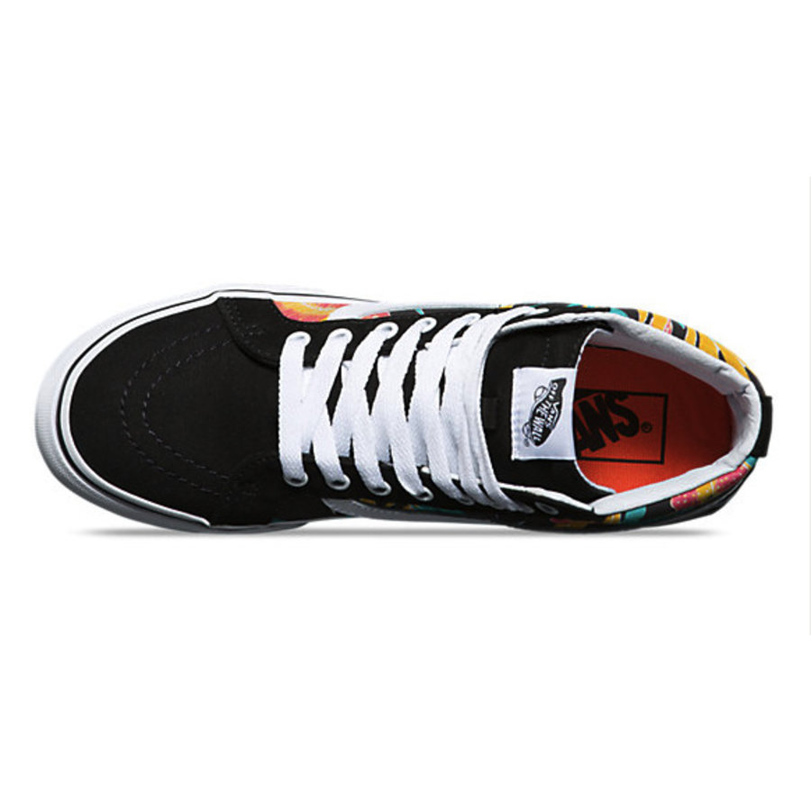 5fc2e5daa1 Vans I SK8-Hi Slim Tropical Leaves I Multicolored-2
