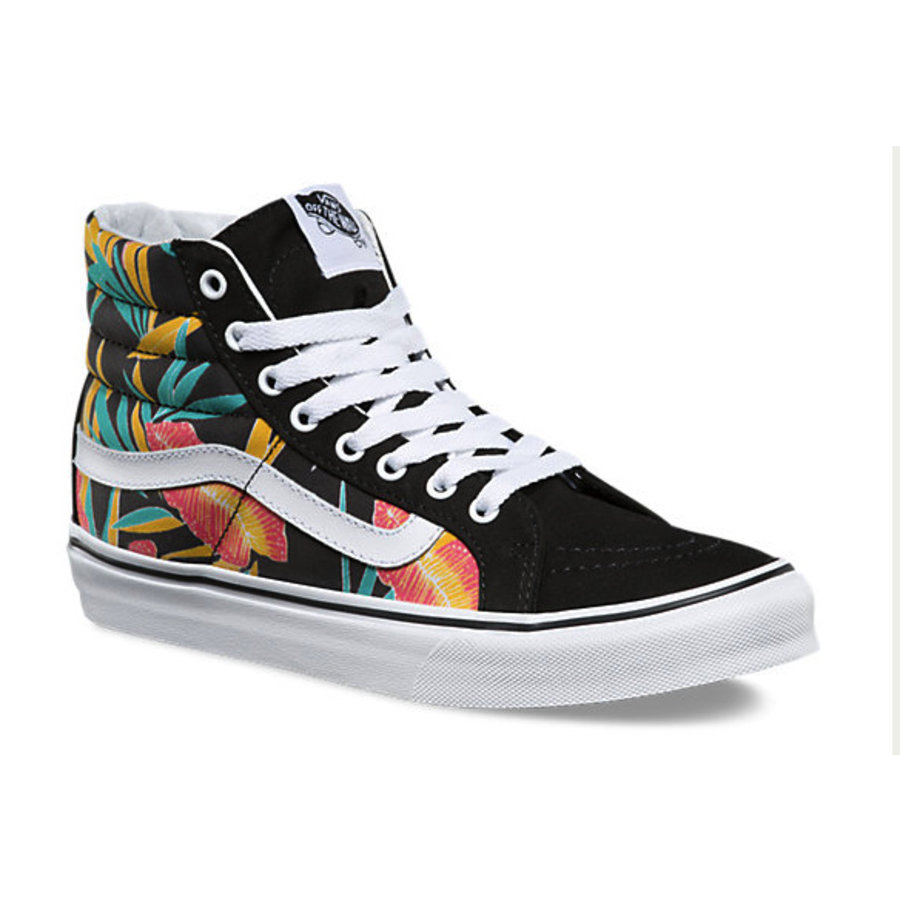 bd0d4880e9 Vans I SK8-Hi Slim Tropical Leaves I Multicolored-3