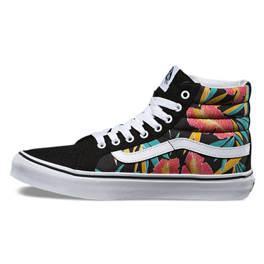 1f1ee60c37 Vans I SK8-Hi Slim Tropical Leaves I Multicolored-4