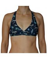 Zealous Zealous I Signature V Surf Bikini Top I Multicolored