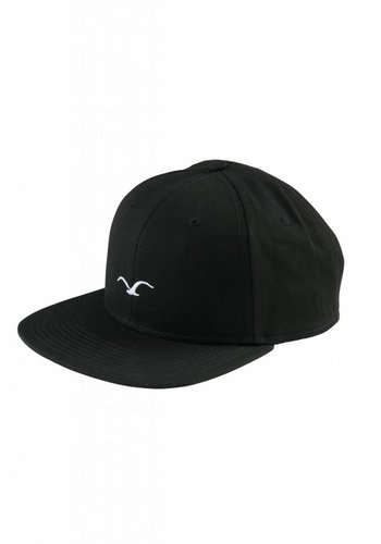 Cleptomanicx I Mini Möwe Cap I Black