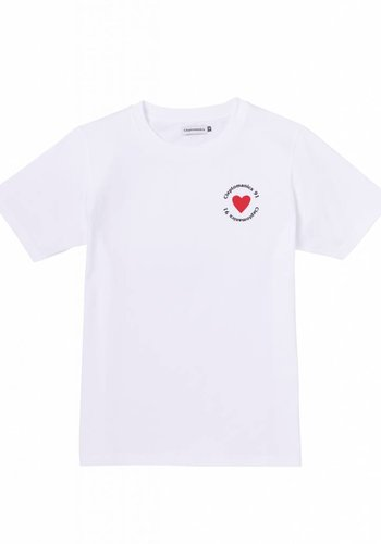 Cleptomanicx I 91 Sports T-Shirt I White