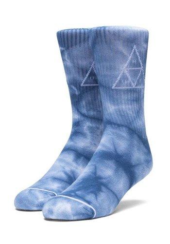 HUF I Spot Dye Triple Triangle Crew Sock I Blue