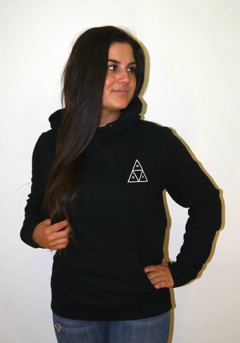 HUF I Triple Triangle Pullover Hoodie I Schwarz