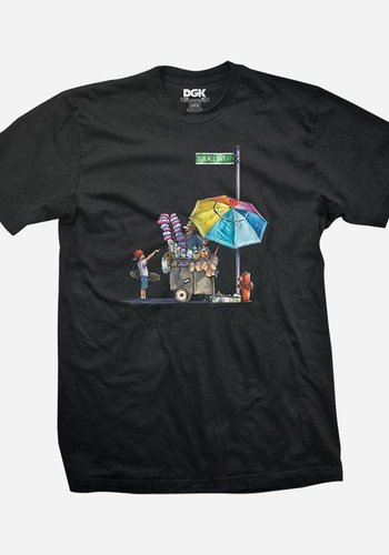 DGK I Vendor T-Shirt I Schwarz