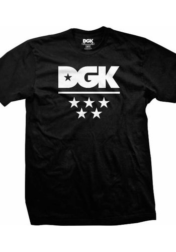 DGK I  All Star T-Shirt  I Schwarz